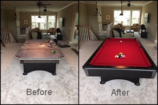 pool table repair in phoenix content