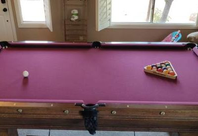Antique Pool Table - Brunswick Wellington c. 1910