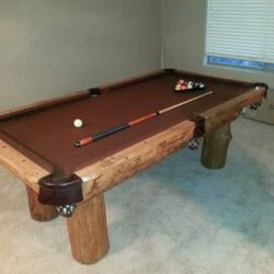 Rustic Style Pool Table