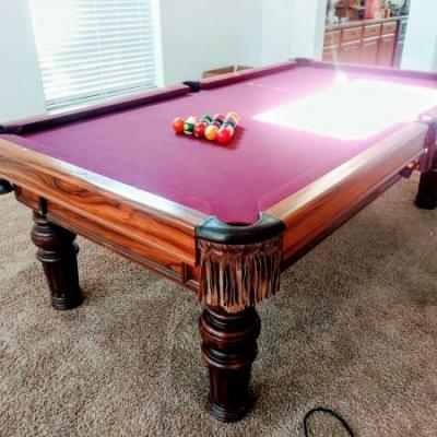 Pool Table Brunswick · Thumbnail For The Listingu0027s Main Image