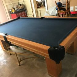 Pool Table 8f .2 x 4f .6