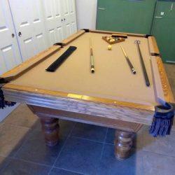Olhausen 8 foot Billiard Table