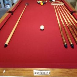 Contender 8ft Pool Table