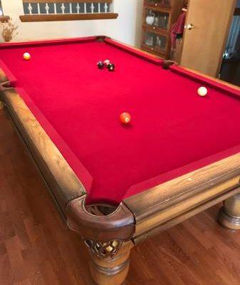 Custom Made Pool Table