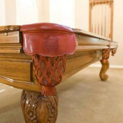 Craig Connelly Pool Table and Custom Cue Rack
