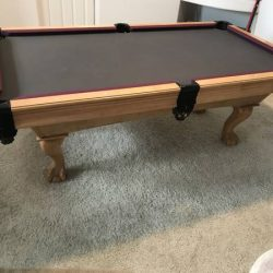 7 by 4 Pool Table by Buckhorn