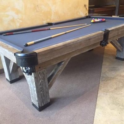 8' Legacy Harpeth Pool Table Brand New Rustic