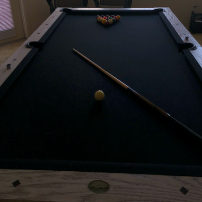 PlyCraft 9ft Pool Table Brand New with New Felt (Includes Ball set and Cue Stick)