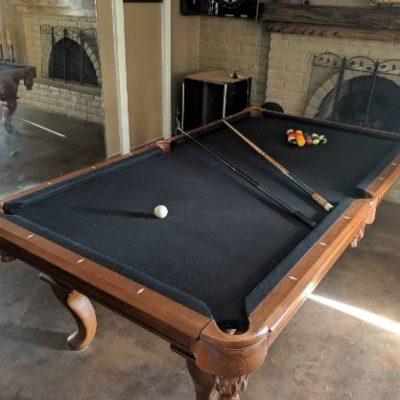 8ft 2 Piece Slate Legacy Billiard table (Stallion version)