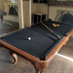 8ft 2 Piece Slate Legacy Billiard table (Stallion version)